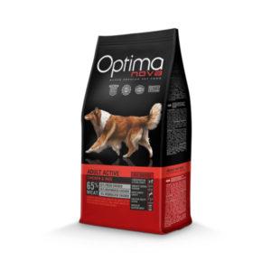 Optimanova Adult Active Chicken & Rice - karma dla dorosłych aktywnych psów