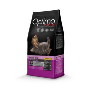 Optimanova Adult Mini Chicken & Rice - karma dla dorosłych psów małych ras