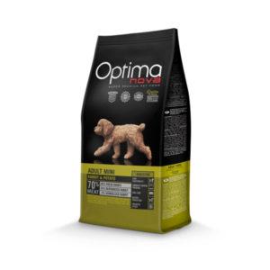 Optimanova Adult Mini Digestive Rabbit & Potato - karma bezglutenowa lekkostrawna dla dorosłych psów małych ras