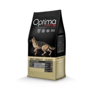 Optimanova Adult Mobility Chicken & Rice - karma dla dorosłych psów pracujących
