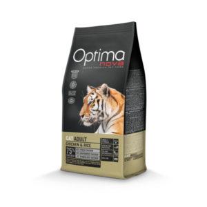 Optimanova Cat Adult Chicken & Rice - karma dla kotów dorosłych z kurczakiem