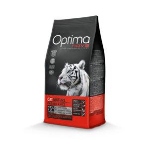 Optimanova Cat Adult Mature Chicken & Rice - karma dla kotów dojrzałych i seniorów